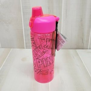 VS PINK Collegiate Water Bottle Neon New ~Shelf